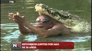Murio el Lagarto Pocho - Cocodrilo crocodile Chito Costa Rica thumbnail