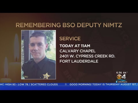 Funeral Service Today For BSO Deputy Killed in Crash
