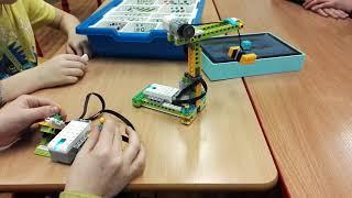 Lego Robotika - Jeřáb na dálkové ovládání - ZŠ Horoměřice