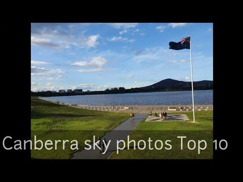 [호주공유] 호주 캔버라 하늘 사진 Top 10(OZ Canberra sky photos Top 10) 미세먼지 0%의 하늘