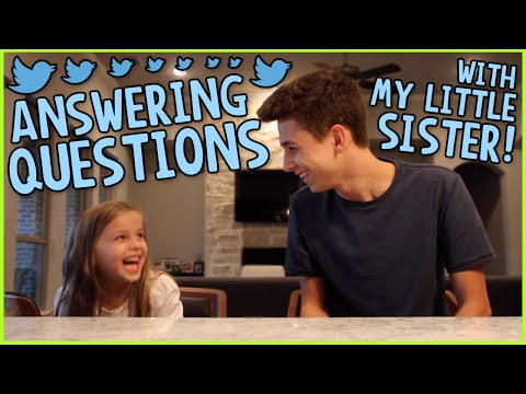 Answering Questions w/ My Sister! #AskGabeAndViv