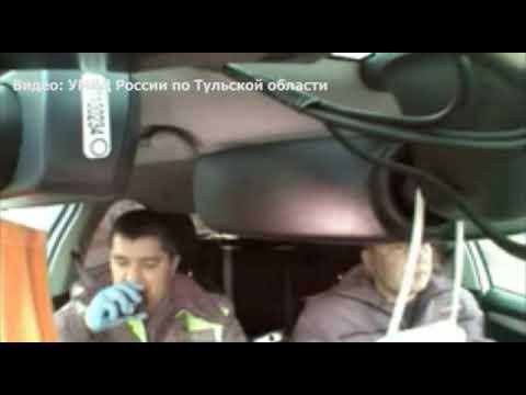 В Туле погоня за подростками и ДТП попали на запись видеорегистратора