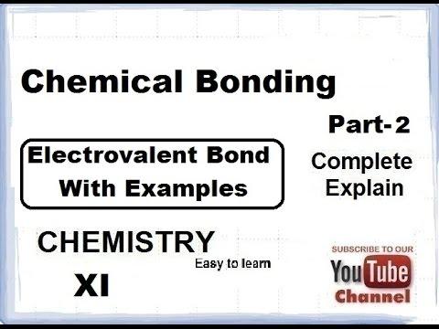 Chemistry Chemical Bondingelectrovalent Bond Part 2 Cbse Class 11