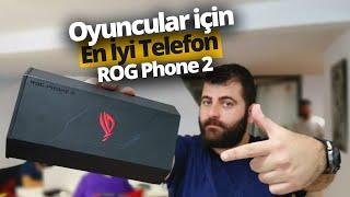 Fanlı oyuncu telefonu Asus ROG Phone 2 kutusundan çıkıyor - 120 Hz ekran ve fazlası!