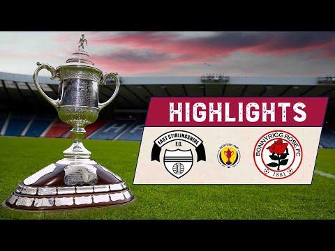 East Stirlingshire Bonnyrigg Rose Goals And Highlights