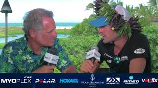 The 2017 Ironman World Champion joined us on the morning after his ...