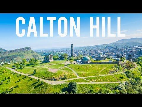Calton Hill, Edinburgh (4K)