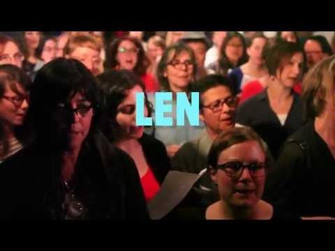 Choir! Choir! Choir! sings Len  Steal My Sunshine