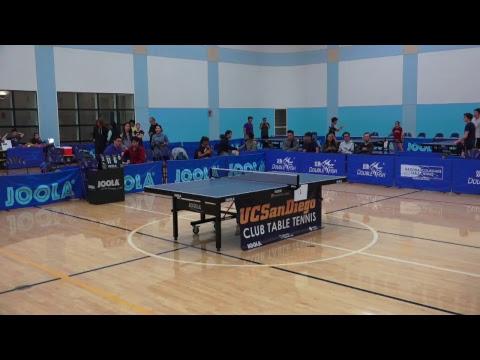 2018 NCTTA West Regional Championship - Coed Teams, Women's Singles (Day 1)