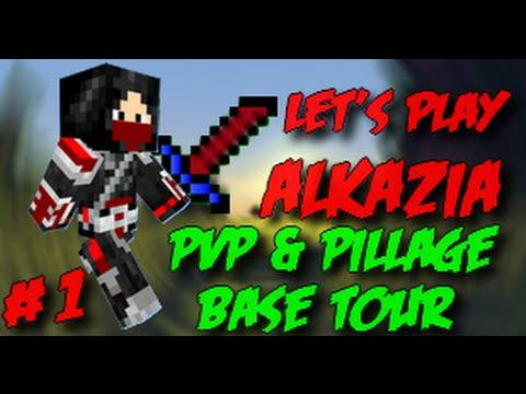 Lets Play Alkazia #1 PvP ,Pillage & Base Tour !