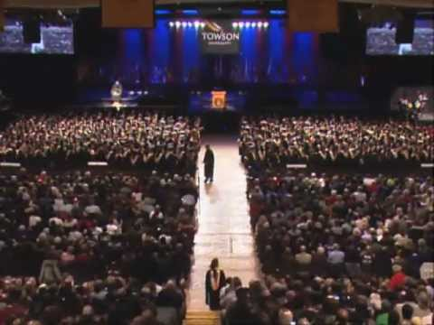 Towson University: Fall Commencement: January 6, 2013, 3 p.m.
