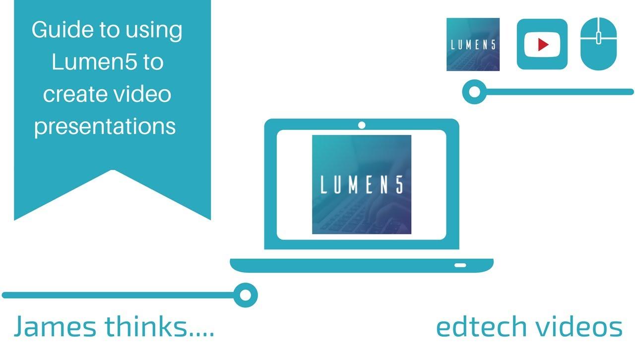 Walk through guide to using Lumen 5
