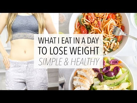 What I Eat In A Day To LOSE WEIGHT – Healthy, Easy and Simple! (Day 5)