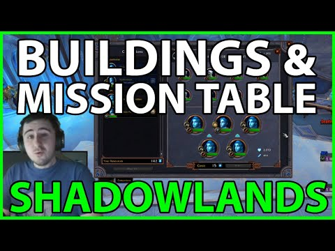 Buildings & Mission Table - How they Work and Early Tips!