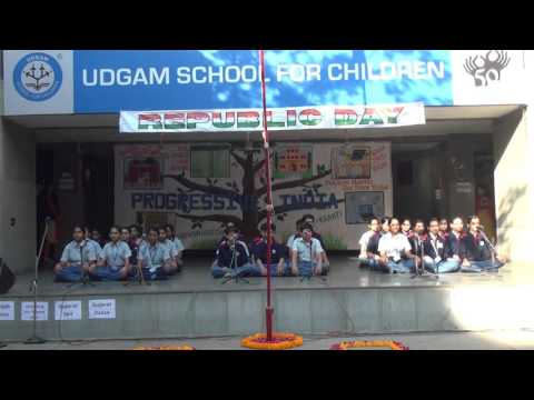 REPUBLIC DAY OBSERVED AT UDGAM SCHOOL (2015-16)
