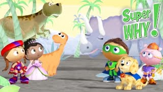 Super Why 208 - Baby Dino's Big Discovery | Cartoons for Kids | Funny Cartoons
