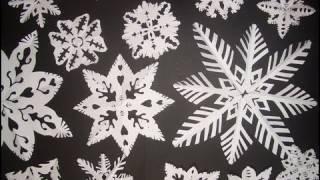 Come fare i fiocchi di NEVE di CARTA - How to do PAPER SNOWFLAKES (ENGLISH SUBS!)