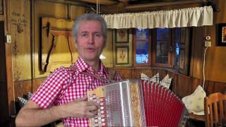 A ganze Weil  auf der Steirischen mit Gesang von Gottfried Kletzmair  ( A-D-G-C )