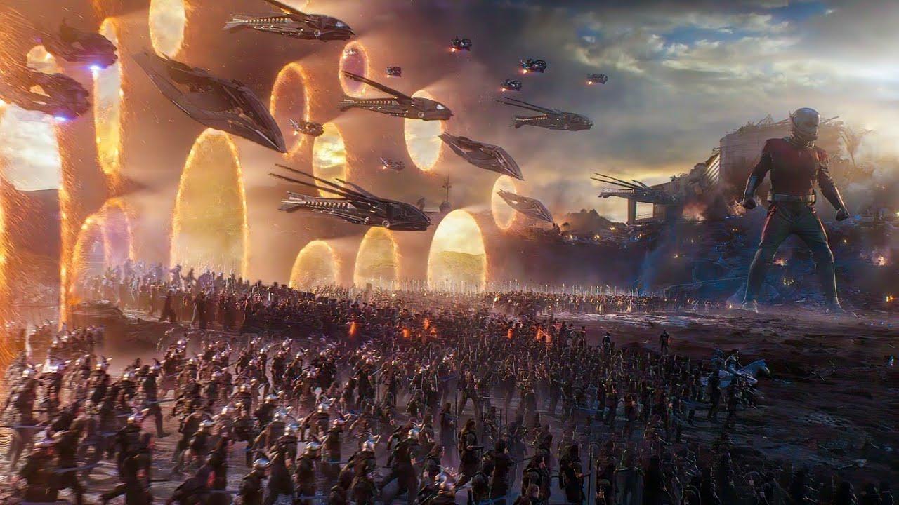 """Download Captain America """"Avengers Assemble"""" Scene - Portal Scene - Avengers : Endgame (2019) Scene"""