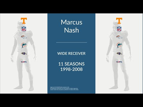 Marcus Nash: Football Wide Receiver