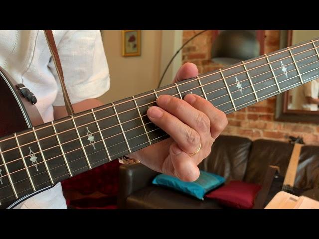 Blues Guitar Triplet Exercise