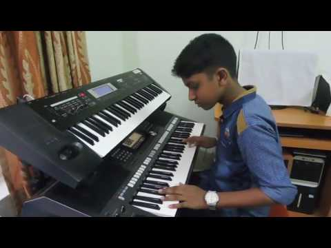 VELMURUGA MALAYALAM SONG KEYBOARD BY ARJUN MS