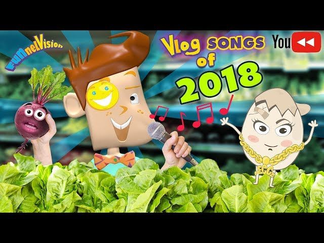 FUNnel Fam Vlog Songs of 2018 (Youtube Rewind Music Vision)