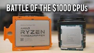 Threadripper 1950X vs Core i9 7900X - Gaming & Rendering Benchmarks!