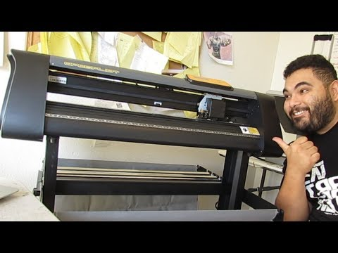 $299 Vinyl Cutter To Start Your Home Business