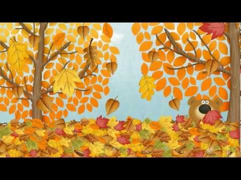 Autumn (Fall) Song for Children | Simple Song to Learn English | ESL