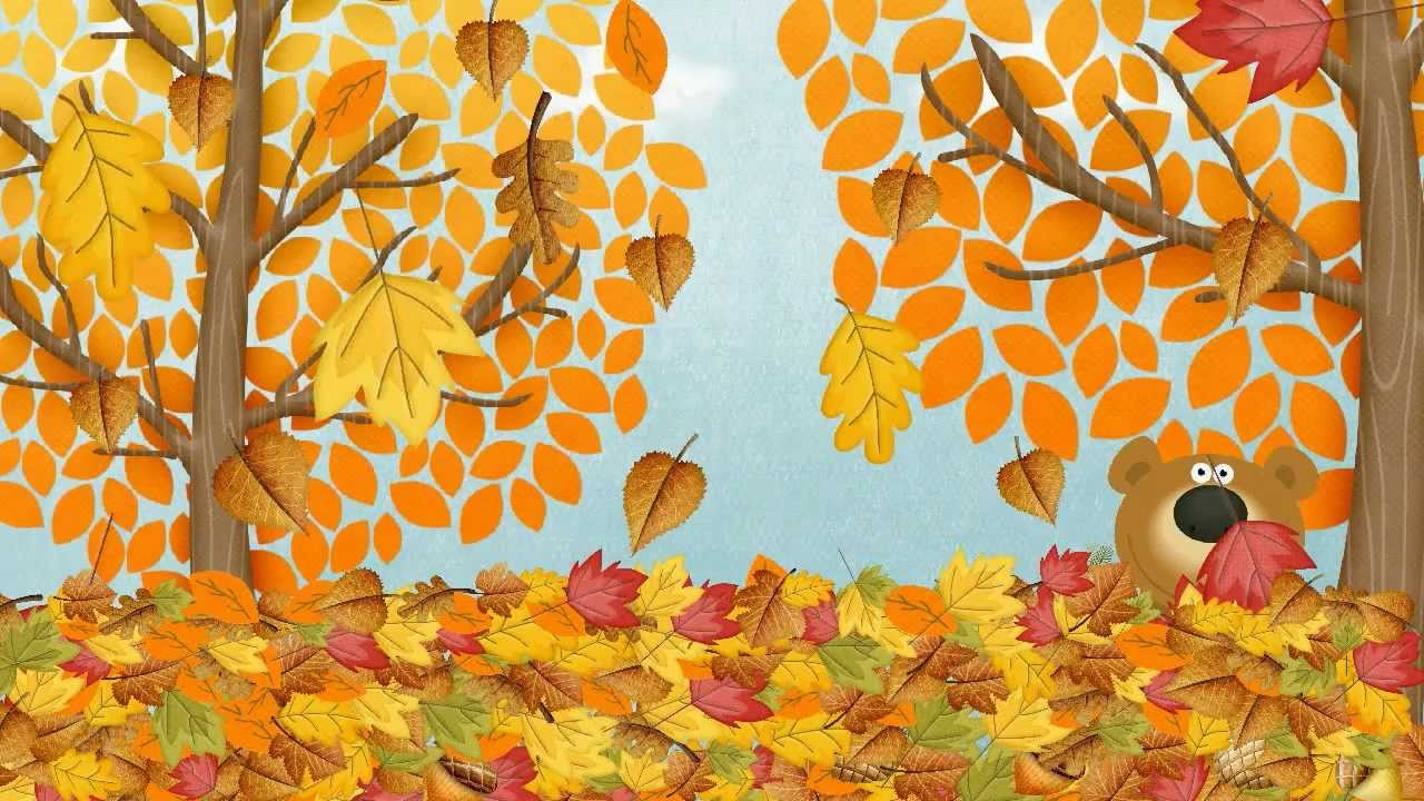 Resultado de imagen de Autumn (Fall) Song for Children | Simple Song to Learn English | ESL