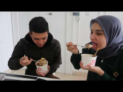 Pengalaman Pertama Irwansyah & Zaskia Sungkar menikmati Bubur Fay