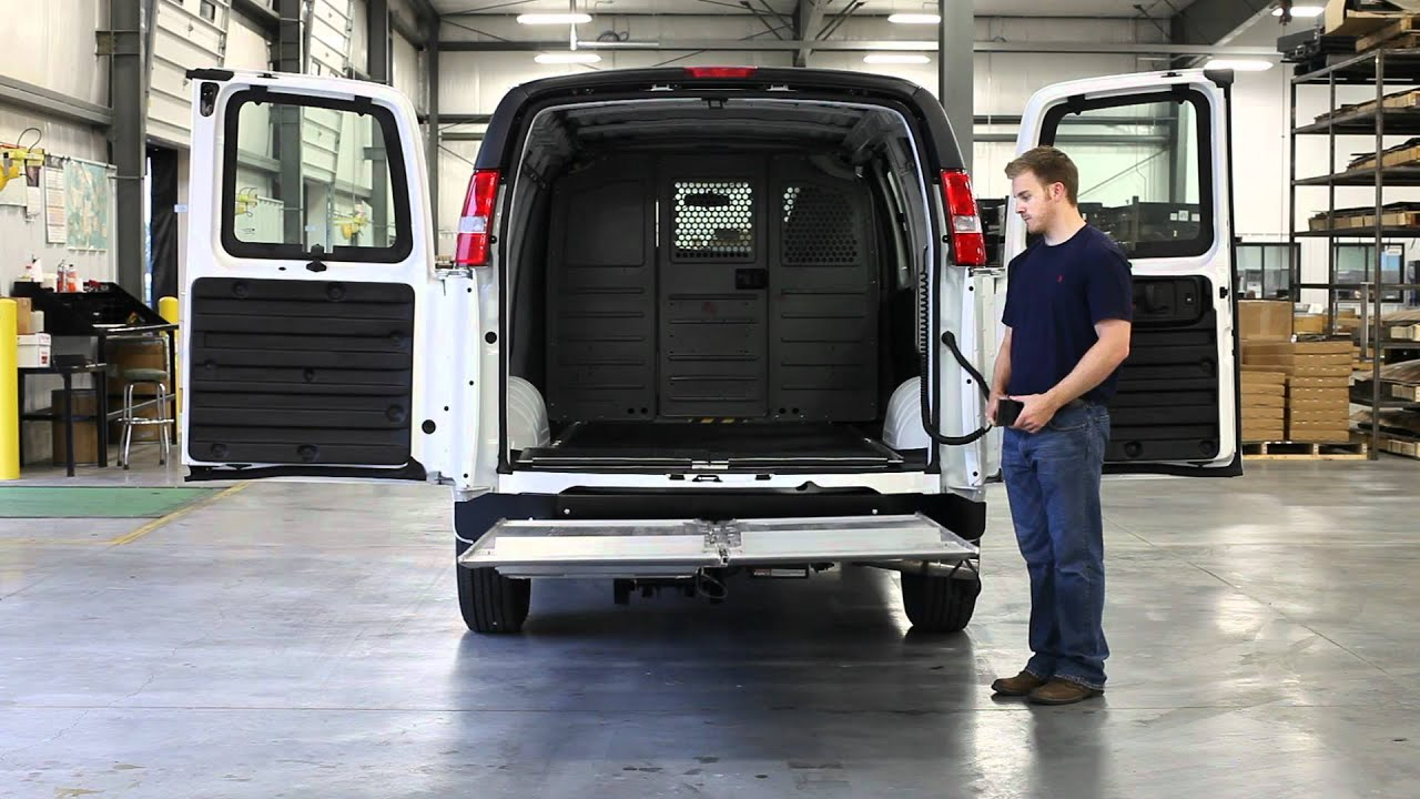 Ford Transit Connect Van >> Tommy Gate - Cantilever Series - YouTube