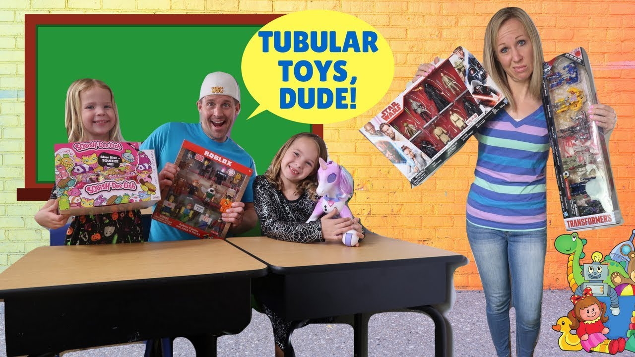 A New BOY Goes to Toy School !!! - YouTube