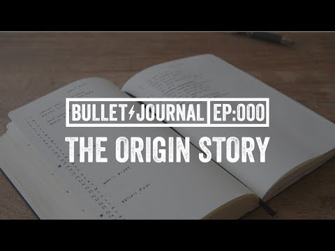 Bullet Journal Origin Story (Kickstarter Video)