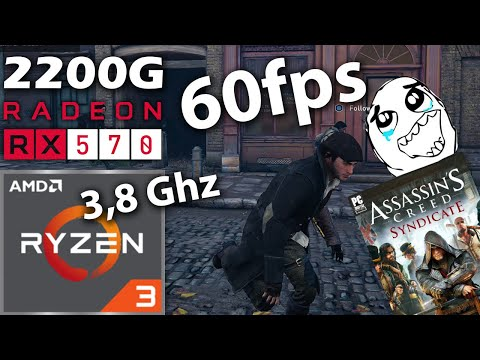 Assassins Creed Syndicate | AMD Ryzen 3 (2200G) + RX 570 (4GB) GAME GRATIS‼ |