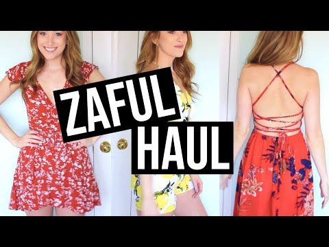 ZAFUL HAUL + REVIEW + TRY ON | SPRING SUMMER