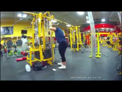 Chest And Triceps @ Retro Fitness Howell, NJ