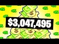 Being Lazy Earns Me Over $30,000 Per Day in Super Life RPG