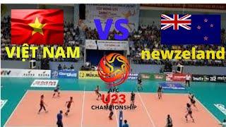 VIỆT NAM VS NEWZILAND SÉT3 .BÓNG CHUYỀN U23 CHÂU Á 2019