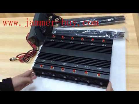 high power multi band desktop cell phone jammer