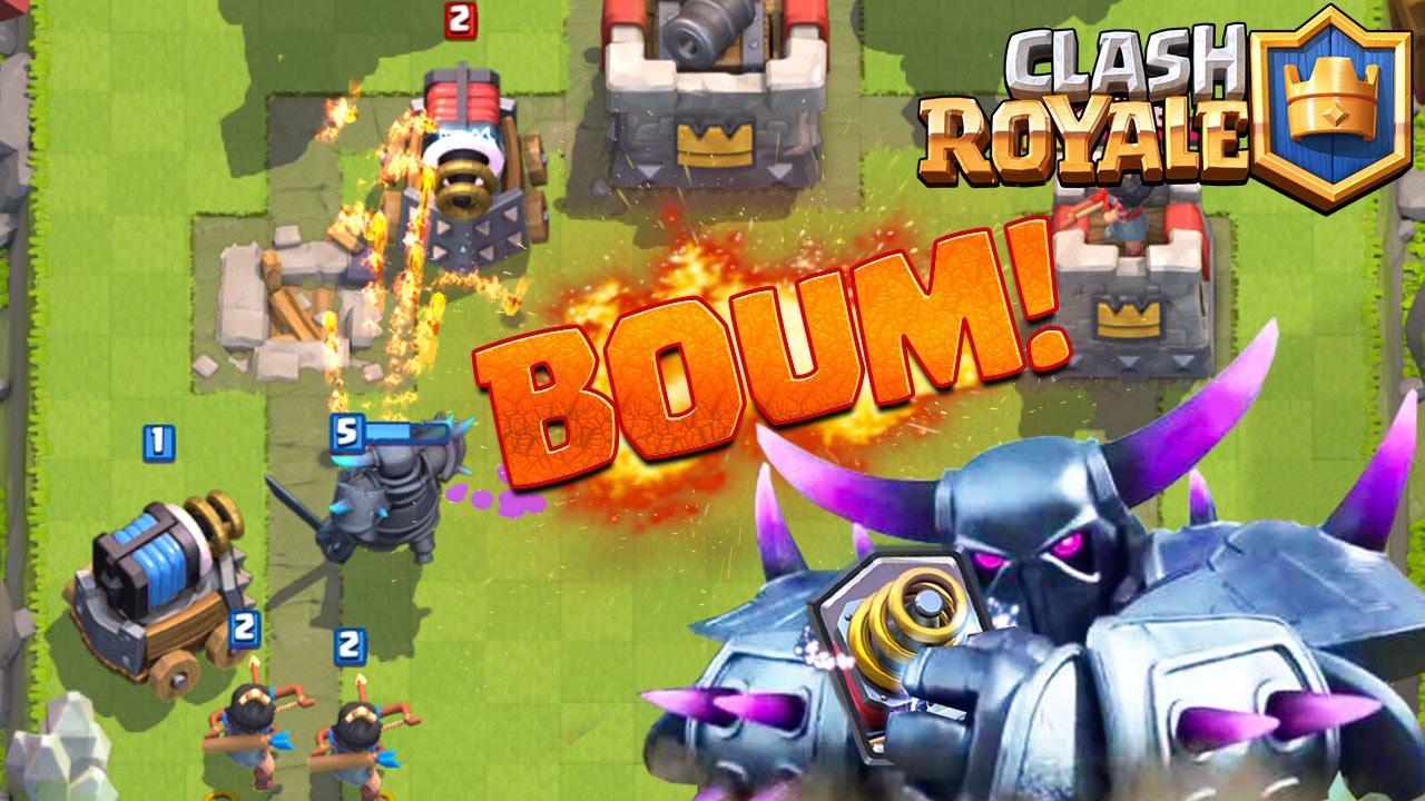 Clash Royale Deck Pekka Zappy ça fait BOUM ! - YouTube