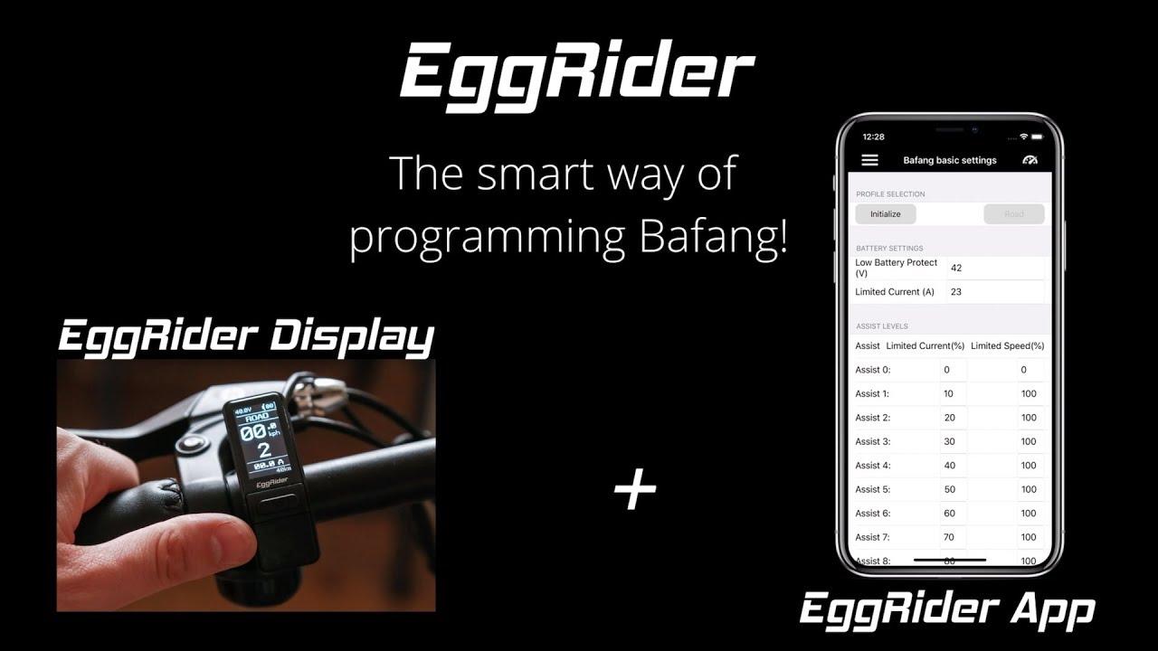EggRider V2 Bafang programming
