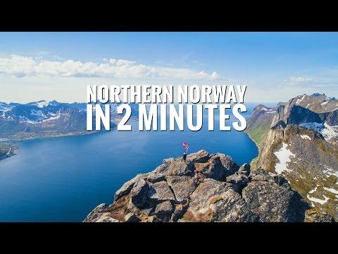 Visiter la Norvège du Nord en 2 minutes