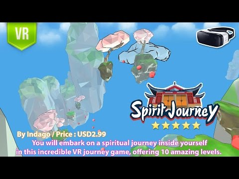 Spirit Journey for Gear VR - The incredible VR journey inside yourself with amazing gameplay.