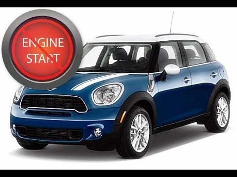 Mini Cooper Hardtop, 2014 and up: Open and start with a dead key fob  battery