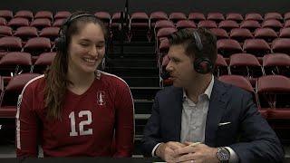 Audriana Fitzmorris talks about Stanford's five-game winning streak
