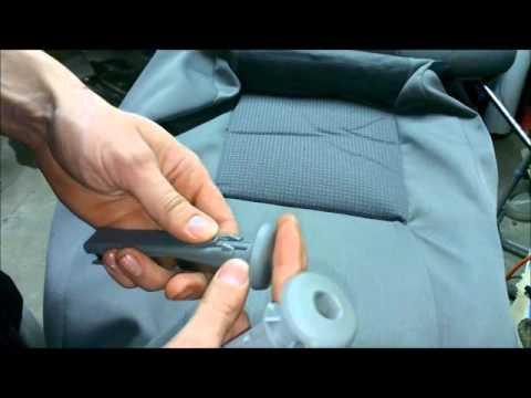 Golf 4 Как разобрать задее сидение для стирки обшивки