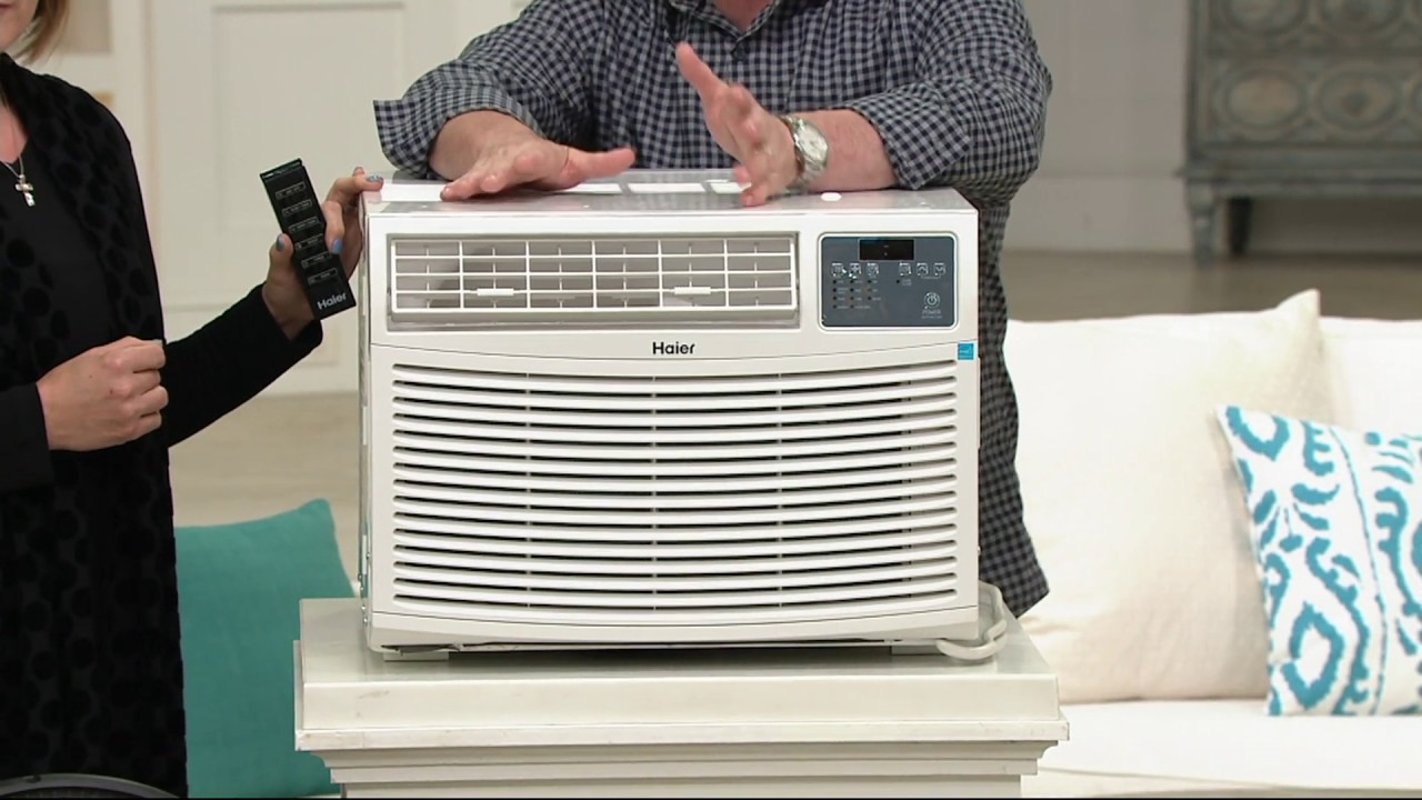 haier 8000 btu portable air conditioner. haier 10,000 btu portable air conditioner with remote on qvc 8000 btu