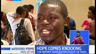 Hope Comes Knocking: Smile for PWDs after Paralympian Anne gifts them wheelchairs